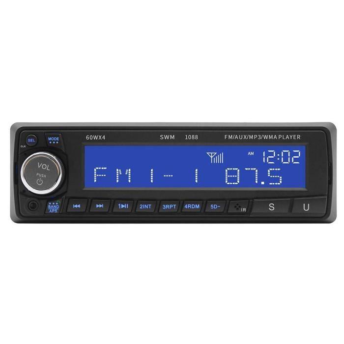 Gestion Des Eaux Pluviales 1088 Voiture Mp3 Stéréo Lecteur Cd Radio Fm Bt Aux Usb Avec Télécommande