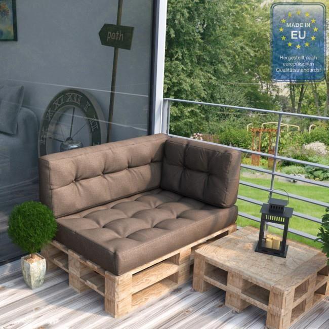 Coussin pour mobilier de jardin pallet Marrone Mod3 - Achat / Vente ...