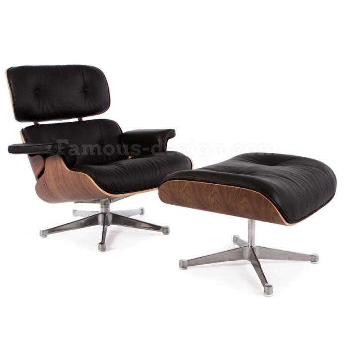 eames fauteuil Fauteuil Lounge Eames - Noyer