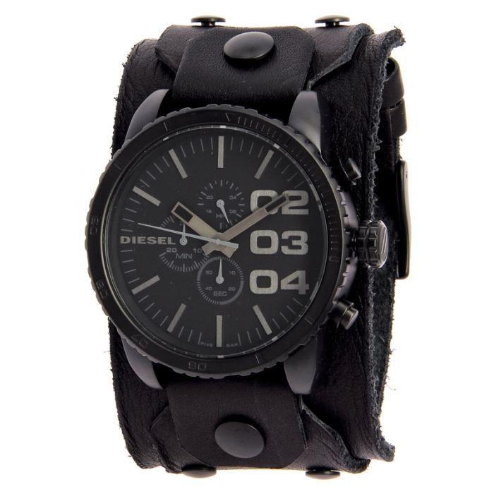 Montre diesel dz4272 bracelet de achat vente montre - Montre diesel bracelet cuir marron ...