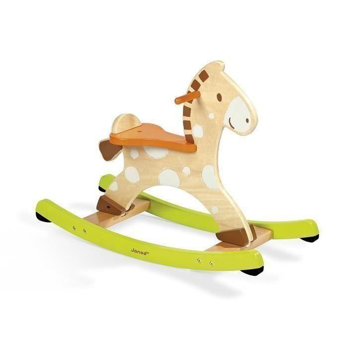 cheval a bascule en bois achat vente jeux et jouets pas chers. Black Bedroom Furniture Sets. Home Design Ideas