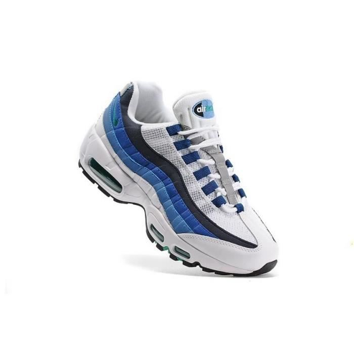 Basket Nike Air Max 95 Homme Running Chaussure Or Blanc et