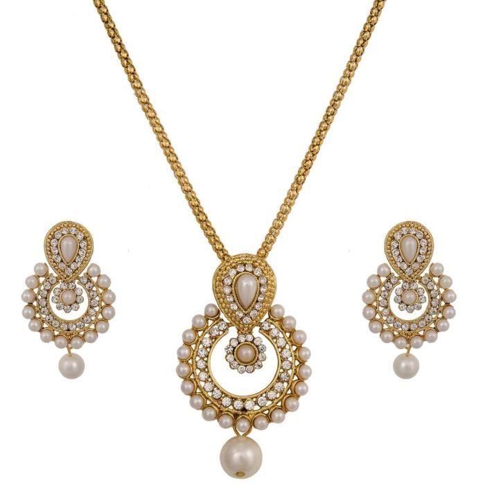 Womens Pankha Necklace Set ForMJKJD