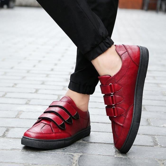 Basket Chaussures de sport décontractées pour hommes chaussures plates HCb45e0