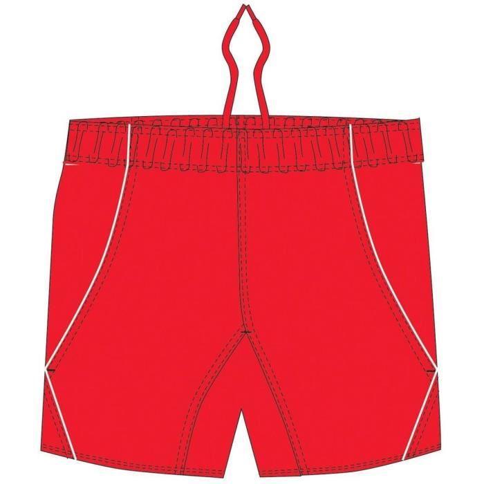 BLK Elite Shorts - Rouge