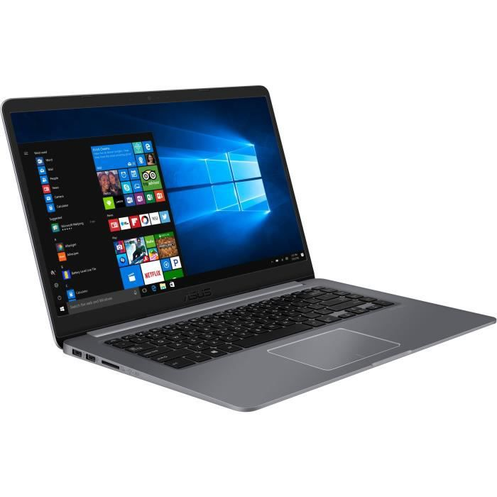 Ordinateur Portable - ASUS VivoBook S501UF-EJ282T - 15,6 pouces FHD - Core i5-8250U - RAM 8Go - Stockage 256Go SSD + 1To HDD - Win10