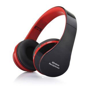 CASQUE - ÉCOUTEURS Aihontai NX-8252 Bluetooth 4.0 stéréo pliable Casq