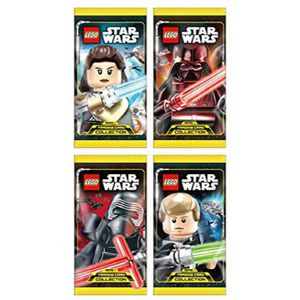 CARTE A COLLECTIONNER 180224 Lego Star Wars Trading Cards Display Avec 5
