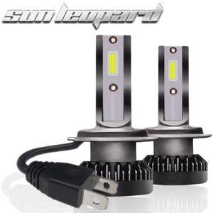 PHARES - OPTIQUES 2x H7 40W 8000LM COB LED phare de voiture Kit Salu