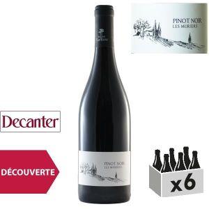 VIN ROUGE Domaine de Castelnau Pays d'Oc Pinot Noir Les Mûri