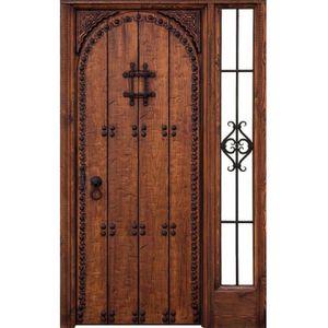 Porte d 39 entr e achat vente porte d 39 entr e pas cher - Portes entree bois massif ...