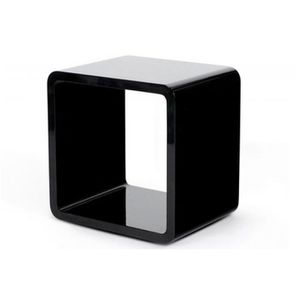 cube de rangement blanc laque achat vente pas cher. Black Bedroom Furniture Sets. Home Design Ideas