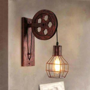 APPLIQUE  Lampe Murale Vintage LOFT E27 Métal Applique Mural