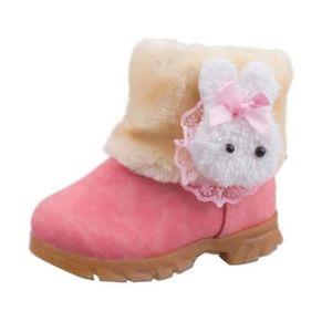 BOTTE Enfant Bébé filles Bottes de Neige Hiver chaussure