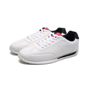 Chaussures Hommes Cuir Printemps Ete Mode Respirant détente Chaussure LLT-XZ082Noir43 FBp3lj