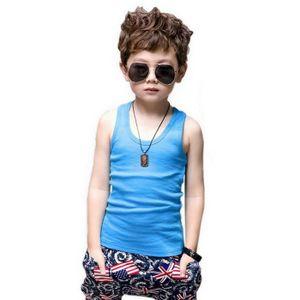 Enfants: Vêtements, Access. Fine Coton Uni Enfants Fille Garçon Enfant T-shirt T-shirt 2-12 An