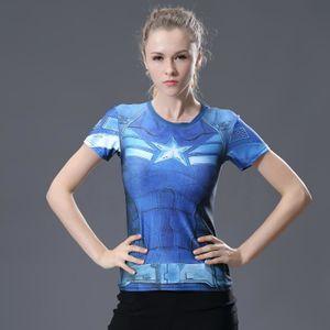 T-SHIRT The Avengers T-Shirt compression à manches longues