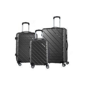 SET DE VALISES MURANO Lot de 3 valises avec 8 roues 360° - 50 / 6