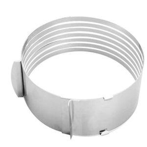 MOULE  la bague de cercle en acier inoxydable rétractable