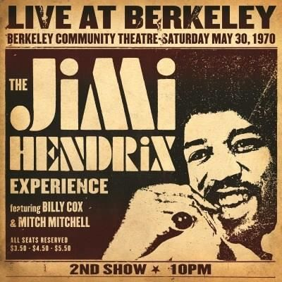 THE JIMI HENDRIX EXPERIENCE Live At Berkeley - 33 Tours - 180 grammes