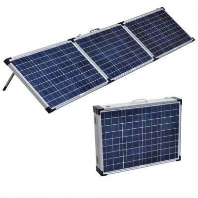 panneau solaire pliable portable 120w pour cara achat vente kit photovoltaique panneau. Black Bedroom Furniture Sets. Home Design Ideas