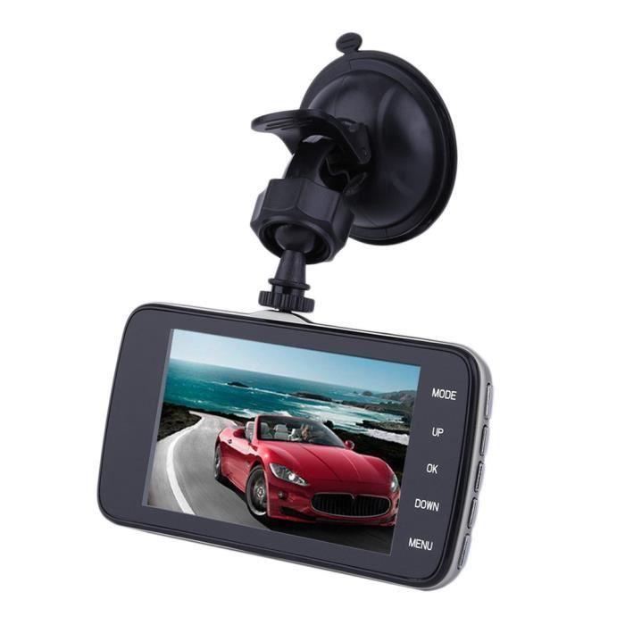 camera embarquee enregistreur de voiture dvr double lentille 4 0 1080p hd achat vente. Black Bedroom Furniture Sets. Home Design Ideas