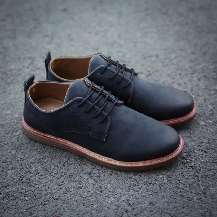 Mocassins pour homme Chaussures de villeChaussures pour costume Chaussures officieles à la main Confortables et légères