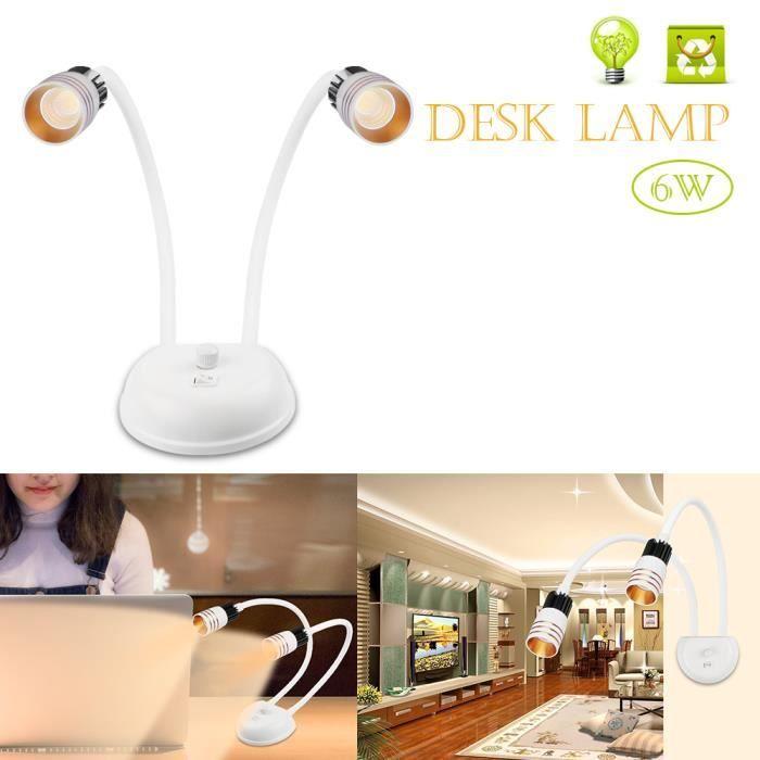 Double Lampe De Bureau A Led Applique Murale Lampe De Table Liseuse