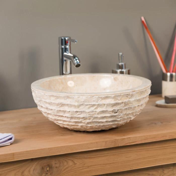 vasque salle de bain en marbre poser v suve c achat. Black Bedroom Furniture Sets. Home Design Ideas