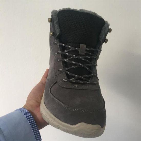 37decc7e3ae Bottine homme mode Chaud chaussures de randonnée Sport De Loisirs Plein Air  hommes Bottes de neige Hiver Velours et Bottines 39-44 - Prix pas cher - ...