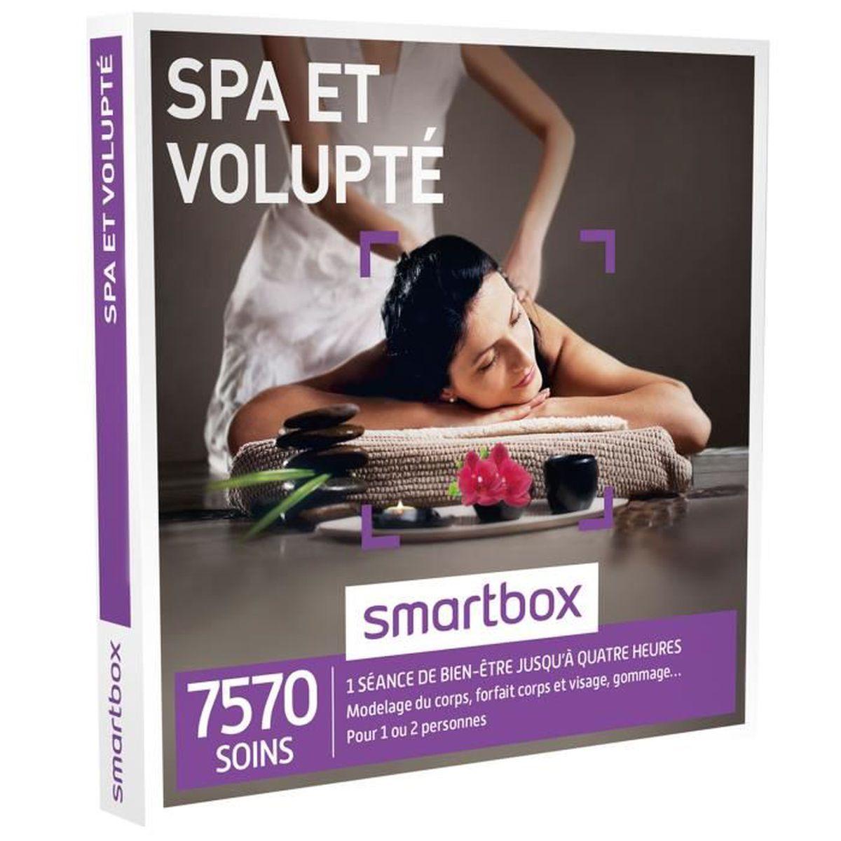 COFFRET BIEN-ÊTRE Coffret Cadeau - Spa et volupté - Smartbox