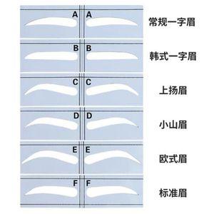 KIT DERMOGRAPHE Tatouage Sourcil Règle Magnétique Standard Sourcil