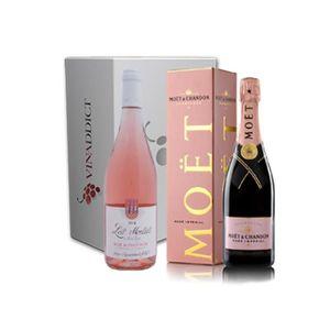 CHAMPAGNE Vinaddict - Coffret Pink Lady - 2 Bouteilles 75 Cl