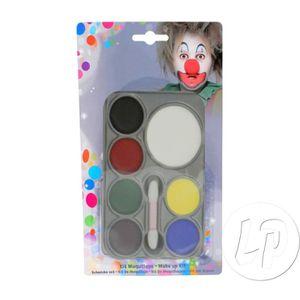 MAQUILLAGE Palette de maquillage à l'eau pour visage 7 couleu