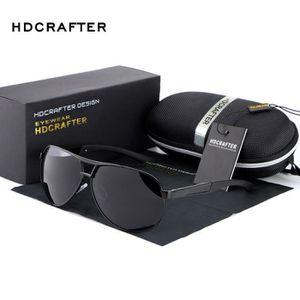 LUNETTES DE SOLEIL HOT HDCRAFTER 2018 Mode hommes polarisés lunettes