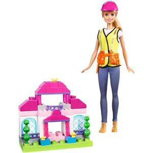 POUPÉE Barbie Coffret Construction Poupée Mannequin, FCP7