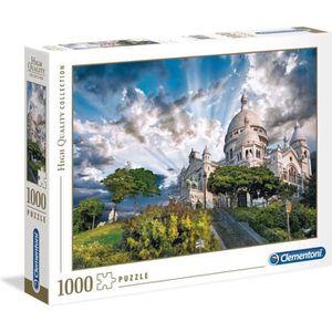 PUZZLE CLEMENTONI Montmartre Puzzle 1000 Pièces