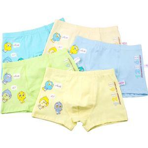b5a29678d09a3 BOXER - SHORTY VOLIBEAR® Lot de 5 Solide Coton Impression bébé ga