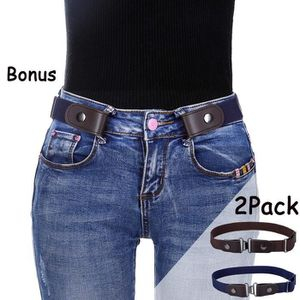 Boucle sans ceinture élastique de femmes - extensible ceinture jusqu à 42