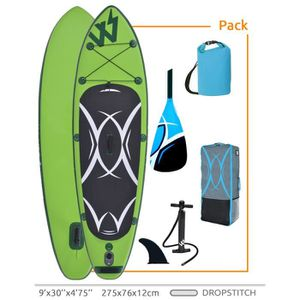 STAND UP PADDLE Stand up paddle gonflable vert SUP Drop stitch - 2