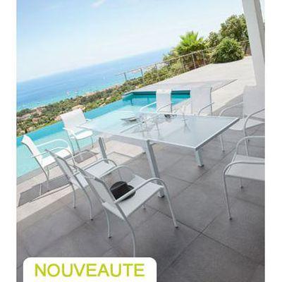 Table et fauteuils de jardin Hespéride CHAWENG,… - Achat ...