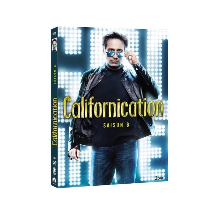 DVD SÉRIE DVD Californication, saison 6