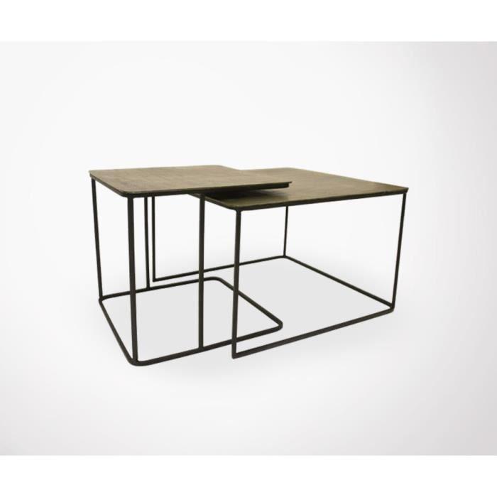 lot 2 tables basse style art d co juik achat vente table basse lot 2 tables basse style art. Black Bedroom Furniture Sets. Home Design Ideas