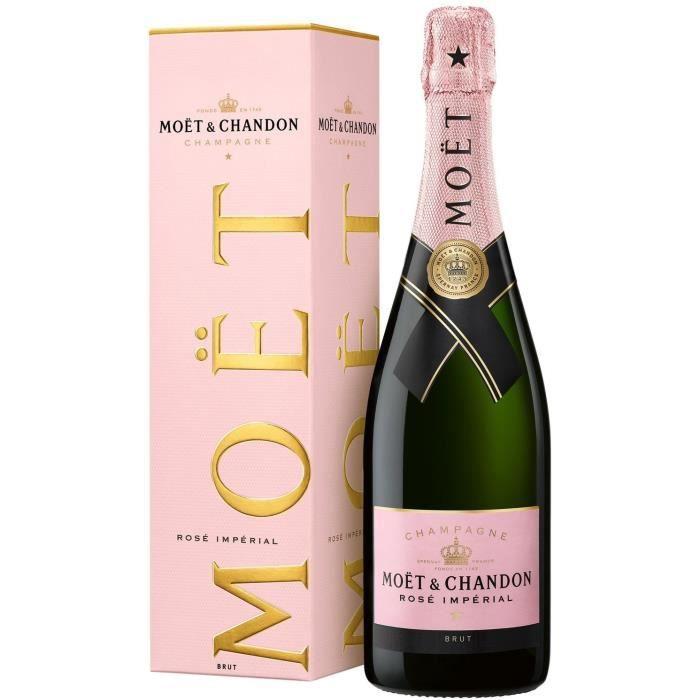 CHAMPAGNE Moët & Chandon Champagne Rosé Impérial 75cl