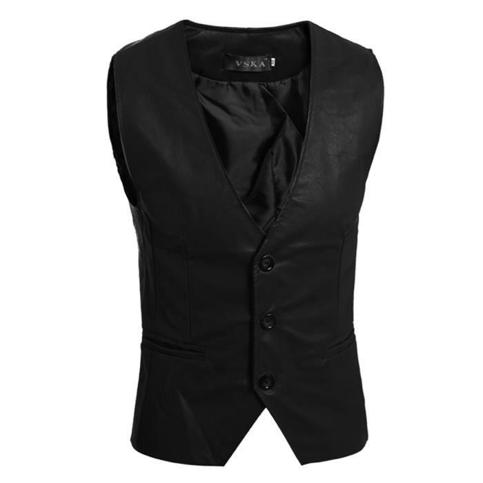 1957eaed15e0 Gilet homme fashion noir 416 gilet sans manche homme fashion