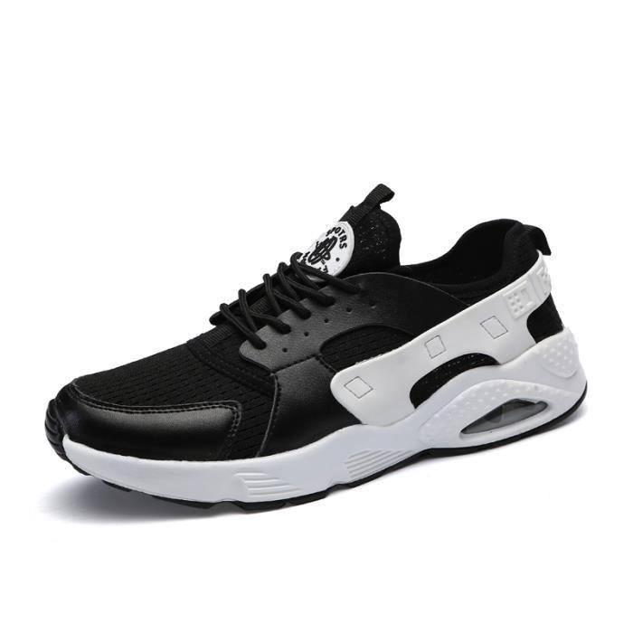 de Plus arrivee 2017 Confortable Nouvelle Homme Chaussures De Qualité Taille Luxe sport Meilleure Homme Basket Baskets Marque apY77f