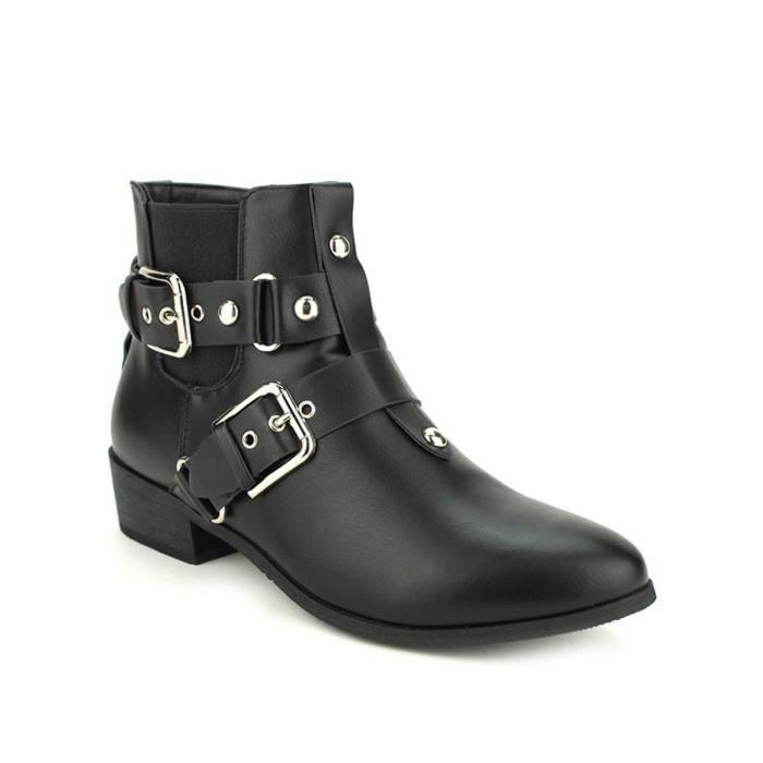 Cendriyon Chaussures Noir Femme bottine boots Bottines xEnfXnwt8z