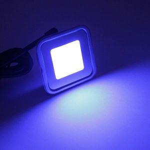 SPOTS - LIGNE DE SPOTS Spot LED encastrable RGB carré ultra-plat