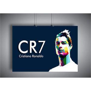 AFFICHE - POSTER Poster CR7 Cristiano Ronaldo Portugal football 05