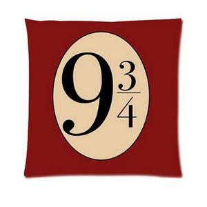 HOUSSE DE COUSSIN Harry Potter Platform Nine et trois quarts taie d'